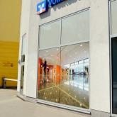 Fensterverklebung Volksbank