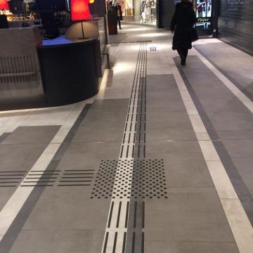 Fussbodenleitsystem ECE Bielefeld