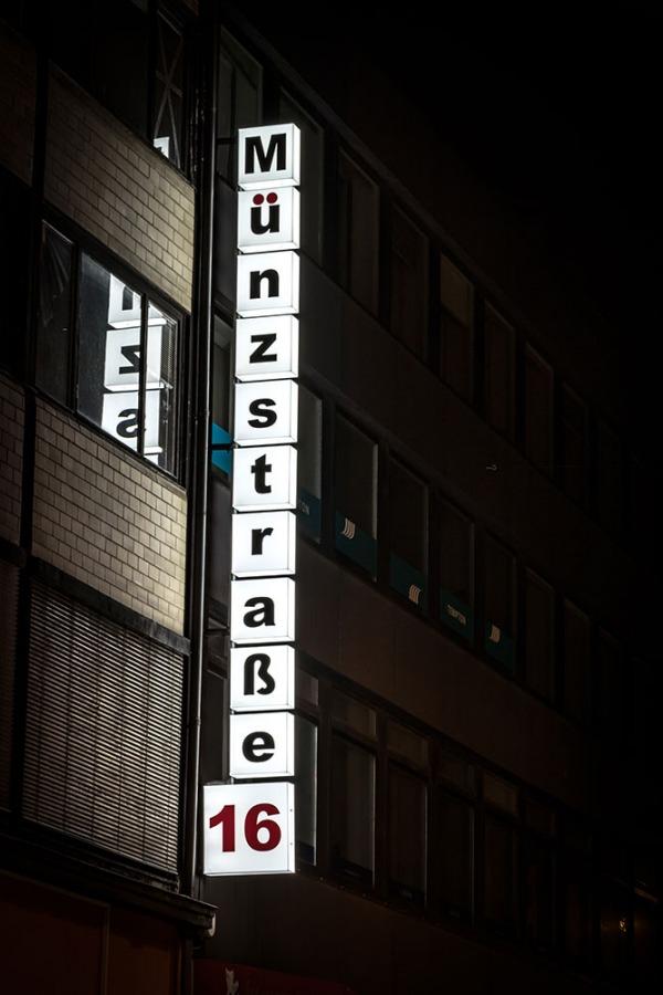 Ausleger Münzstraße 16